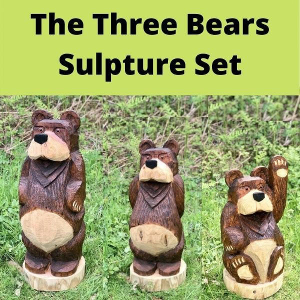 Three Bears Sculpture Set Special Offer